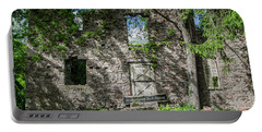 Bucks County Ruin - Bridgetown Mill House Portable Battery Charger by Bill Cannon