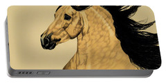 Buckskin Andalusian - Dream Horse Series #3300 Portable Battery Charger