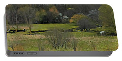 Bucolic Wisconsin Portable Battery Charger by Jodie Marie Anne Richardson Traugott          aka jm-ART