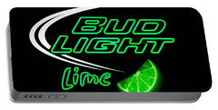 Bud Light Lime Edited Portable Battery Charger