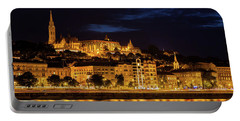 Budapest City By Night Portable Battery Charger