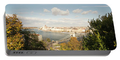 Budapest Portable Battery Charger by Yuri Santin