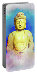 Buddha Blue Portable Battery Charger