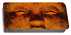 Buddha, Fire Sermon By Sarah Kirk Portable Battery Charger