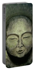 Buddha In Green Portable Battery Charger