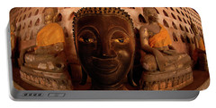 Portable Battery Charger featuring the photograph Buddha Laos 1 by Bob Christopher