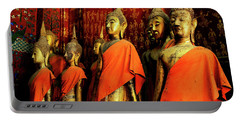 Portable Battery Charger featuring the photograph Buddha Laos 2 by Bob Christopher