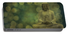 Buddha Light Gold Portable Battery Charger