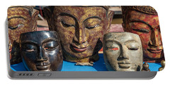 Buddha Masks Hadicrafts Portable Battery Charger