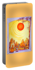 Buddha Meditation Portable Battery Charger