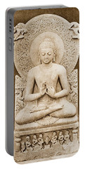 Buddha Preaching. Sculpture Discovered Portable Battery Charger