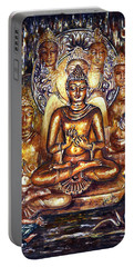 Buddha Reflections Portable Battery Charger by Harsh Malik