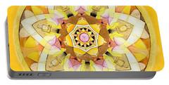 Buddha Sun Mandala Portable Battery Charger