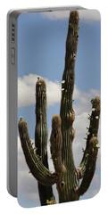 Budding Saguaro Cactus Babies Portable Battery Charger