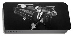Buddy Holly And 1959 Cadillac Portable Battery Charger