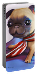 Buddy The Pug Portable Battery Charger