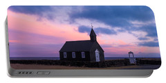 Portable Battery Charger featuring the photograph Budir Black Church by Pradeep Raja Prints