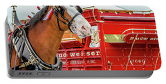 Budweiser Clydesdale In Full Dress Portable Battery Charger