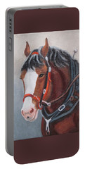 Budweiser Clydesdale Portable Battery Charger