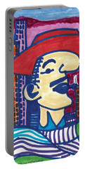 Buenos Aires Casanova Portable Battery Charger by Don Koester