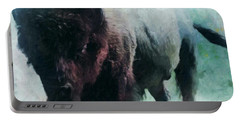 Buffalo American Bison Portable Battery Charger