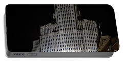 Buffalo City Hall Portable Battery Charger by Richard Engelbrecht