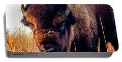 Buffalo Face Portable Battery Charger