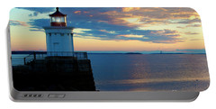 Bug Light, Portland Maine Portable Battery Charger