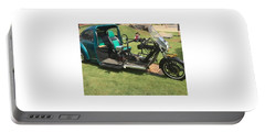 Portable Battery Charger featuring the photograph Bug Trike by Aaron Martens