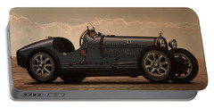 Bugatti Type 35 1924 Mixed Media Portable Battery Charger