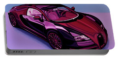 Bugatti Veyron 2005 Painting Portable Battery Charger