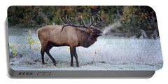 Bugle Of The Elk Portable Battery Charger