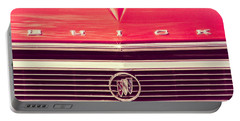 Buick Retro Portable Battery Charger by Caitlyn Grasso