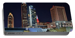 Portable Battery Charger featuring the photograph Buildings New And Old by Frozen in Time Fine Art Photography