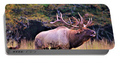 Bull Calling His Herd Portable Battery Charger