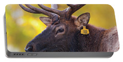 Bull Elk Number 10 Portable Battery Charger