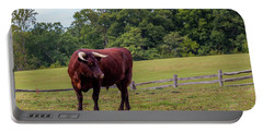 Bull In Field Portable Battery Charger