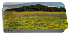 Portable Battery Charger featuring the photograph Bull Prairie by Leland D Howard