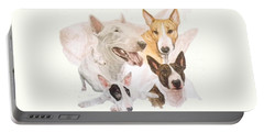 Bull Terrier Grouping Portable Battery Charger