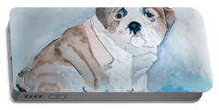 Bulldog Puppy Portable Battery Charger