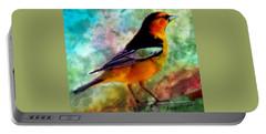 Bullock's Oriole Mountain Birds Portable Battery Charger