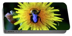 Bullseye Bumblebee Dandelion Portable Battery Charger