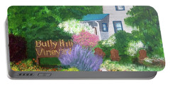 Bully Hill Vineyard Portable Battery Charger