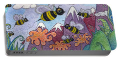 Bumble Bee Buzz Portable Battery Charger