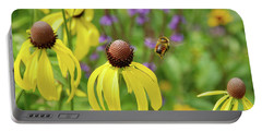 Bumble Bee Heaven Portable Battery Charger