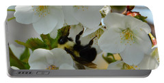 Bumble Bee In Hiding Portable Battery Charger