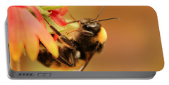 Bumblebee At Days End Portable Battery Charger