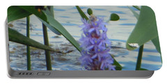 Bumblebee Pickerelweed Moth Portable Battery Charger