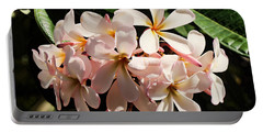 Bunch Of Plumeria Portable Battery Charger