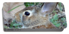 Bunny Portrait Portable Battery Charger